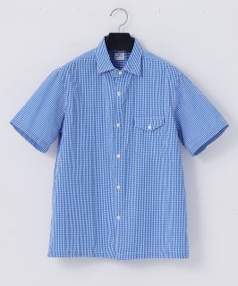 necessary or unnecessary/N.O.UN(ナウン)PLANE SHIRTS 'GINGHAM'