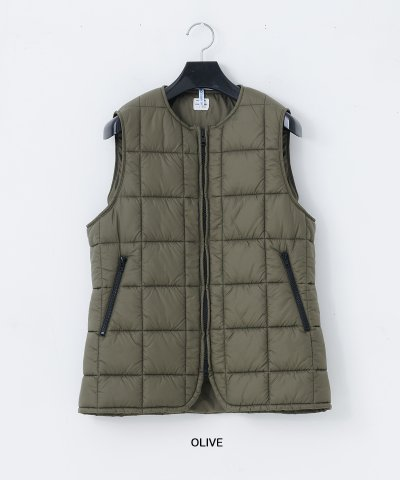necessary or unnecessary/N.O.UN(ナウン)QUILT LONG VEST