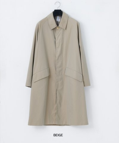 necessary or unnecessary/N.O.UN(ナウン)コート LONG MAC COAT