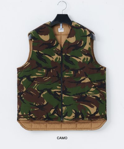necessary or unnecessary/N.O.UN(ナウン)CAMO VEST