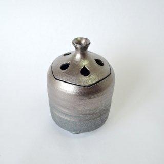 清水焼 炭化香炉(縦型)