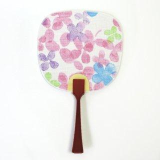 京のアサゴロモ 豆うちわ【よつば】