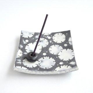 印花香皿 雪輪