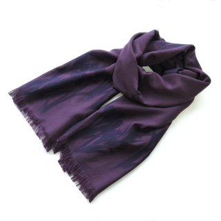 花紫翠−はなしすい− ストール【かきつばた / ムラサキ】