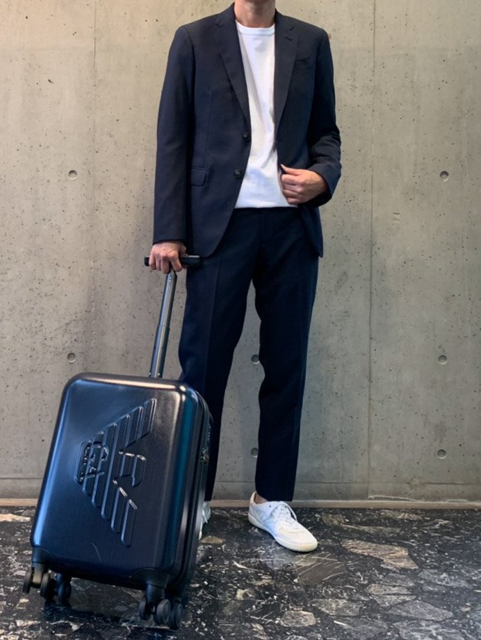EMPORIO ARMANI ABS製スーツケース