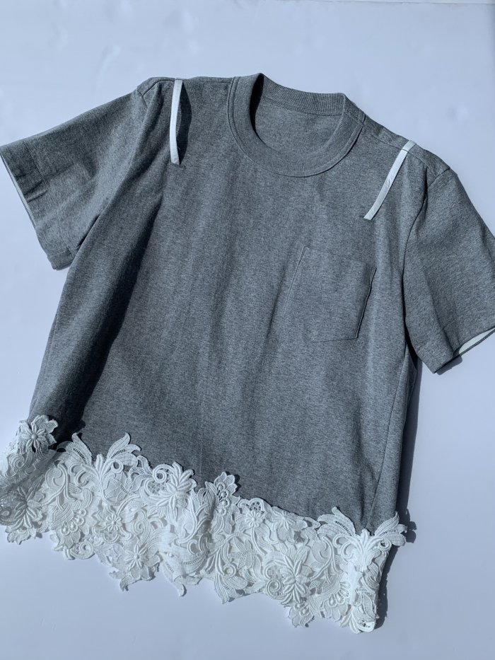 sacai / サカイ/ Cotton Jersey × T-shirt