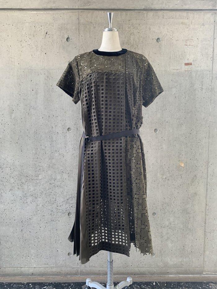 sacai / サカイ / Embroidery Lace Dress