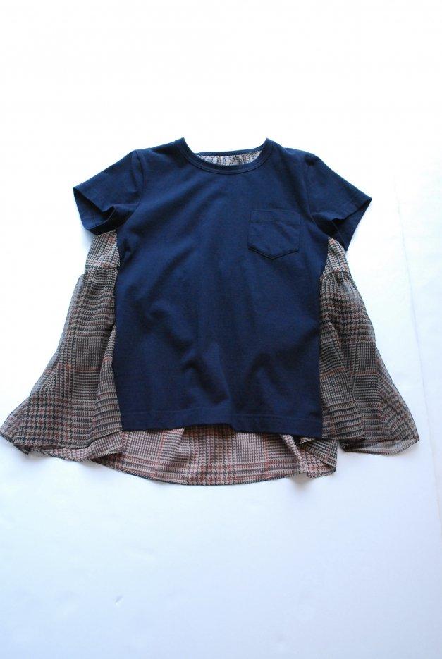 sacai / サカイ / Check Print T-shirt