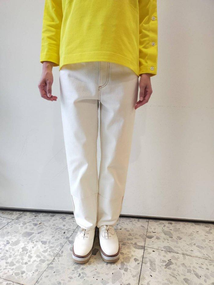 Traditional Weatherwear/バイカラーホワイトデニム