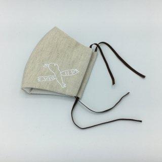 【大人用(大きめ)】nu-tan布マスク(GORO SKY TOWER x MIZUNAGIコラボ商品)※みずなぎ学園オリジナルアートポストカード付