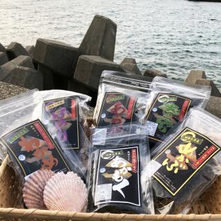 【地場産】菅島(鳥羽市)ヤマウ食品 乾燥海藻6袋セット