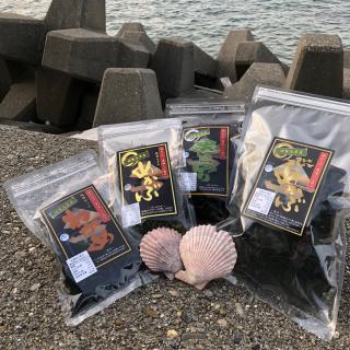 【地場産】菅島(鳥羽市)ヤマウ食品 乾燥海藻4袋セット