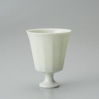 黄磁釉 酒盃(12面)