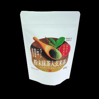 粉末抹茶入り玄米茶 40g