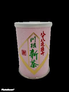 【新茶予約受付中】令和3年度産                      川根薮北新茶 八十八夜摘み缶入り 100g