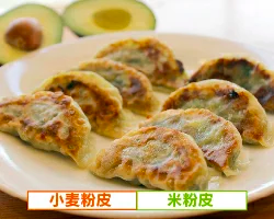【FUKKO】ベジアン餃子(小麦粉皮)(米粉皮)[20個セット]
