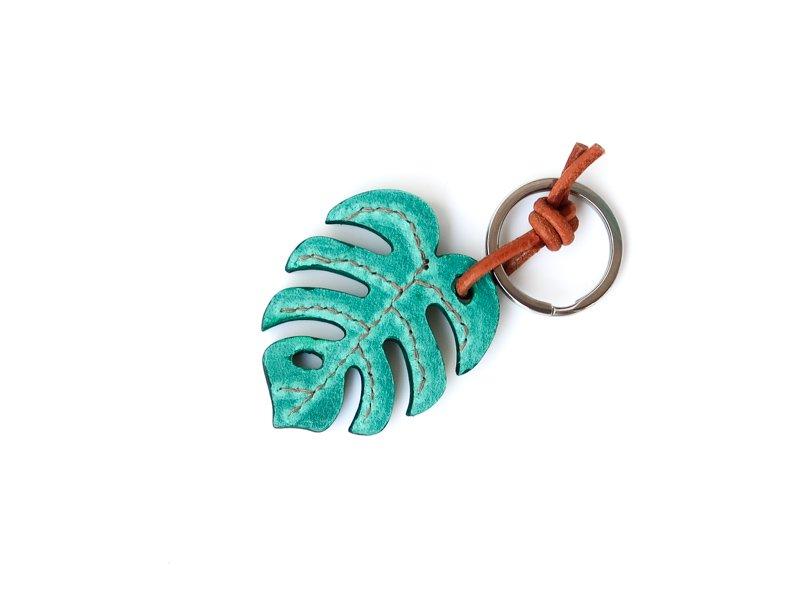 Monstera Key Holder / Petrol