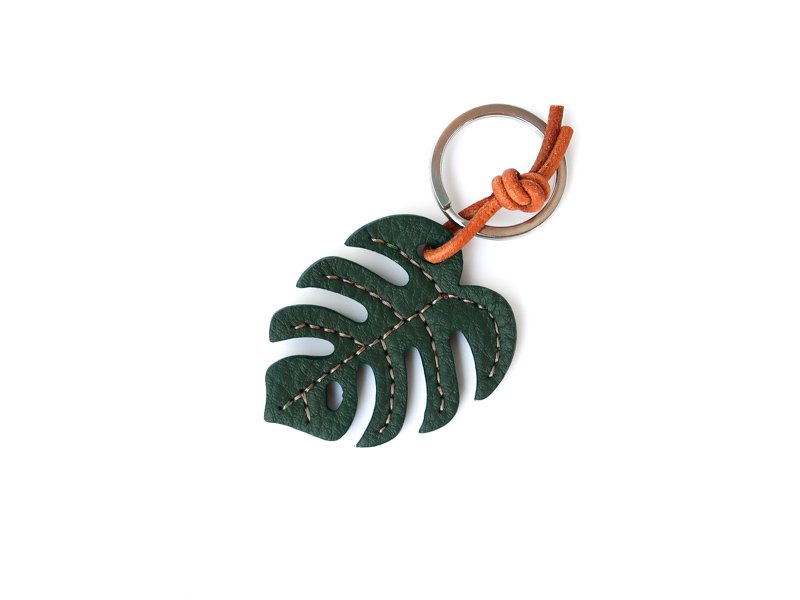 Monstera Key Holder / Green