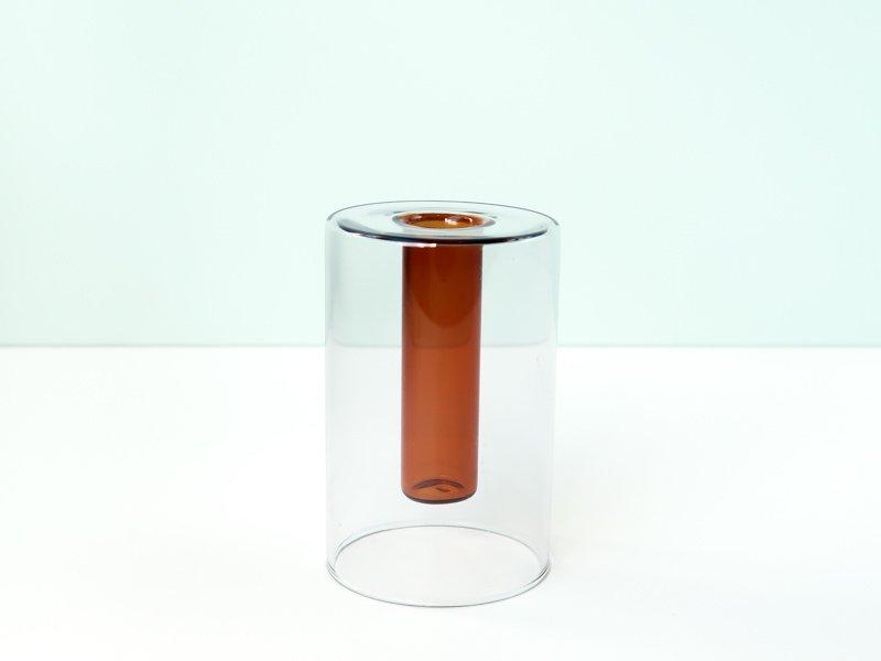 Reversible Vase / Grey&Brown