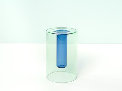 Reversible Vase / Green&Blue