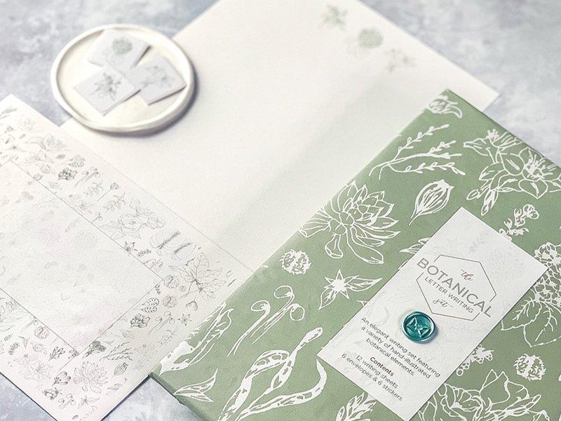 Letter Set / Botanical