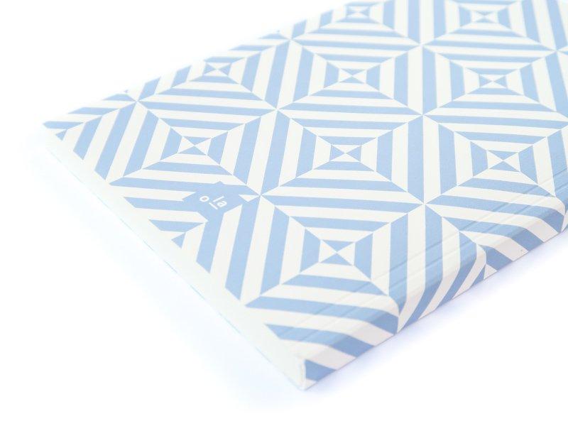 Layflat Notebook / Alma (Salvia Blue)