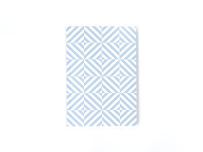 Layflat Notebook / Alma (Salvia Blue)