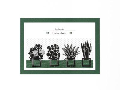 Houseplant Bookmarks