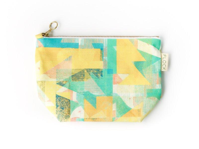 Cosmetic bag / Grapefruit Coast