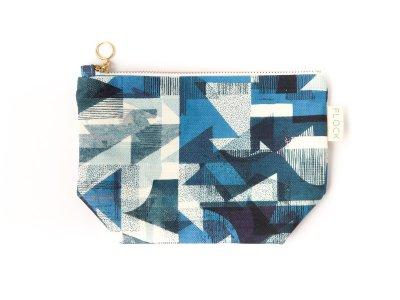 Cosmetic bag / Cobalt Coast