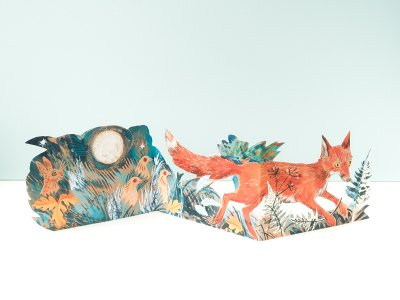 Fox Card by Mark Hearld