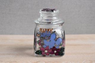 ガラス保存瓶(小)(ネズミ)