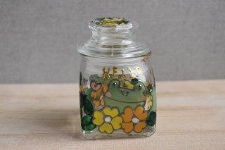 ガラス保存瓶(小)(カエル)