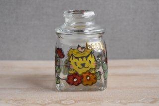 ガラス保存瓶(小)(トラ猫)