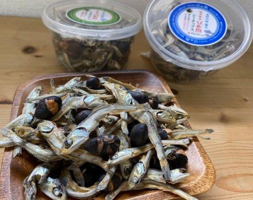 サクサク豆&魚有塩70g