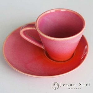 JENGGALA カップ&ソーサー ピンク