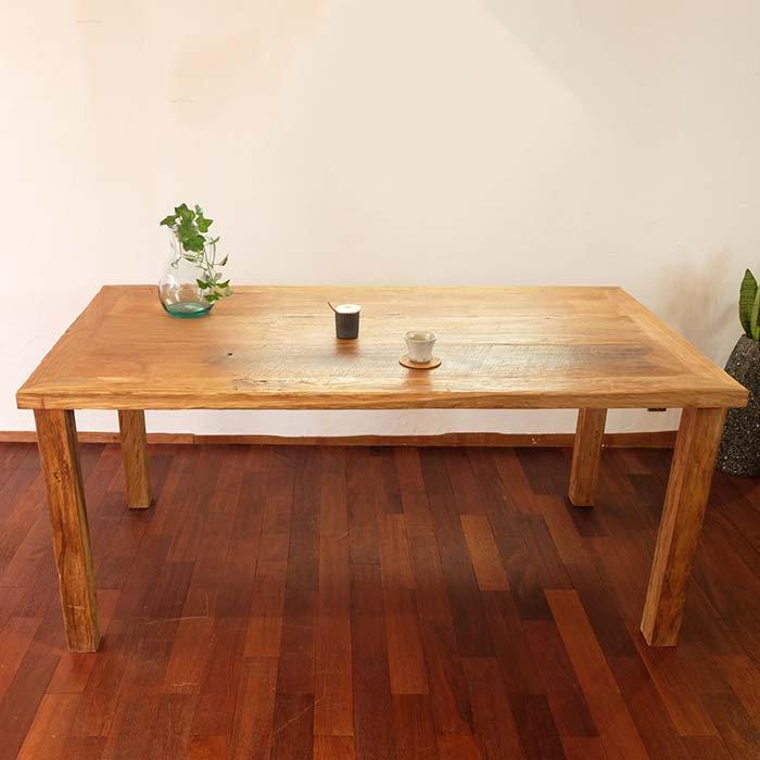 チークダイニングテーブル アンティークのままに メインイメージ