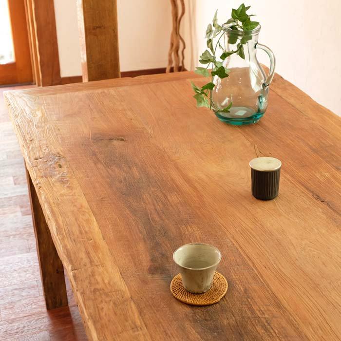 チークダイニングテーブル アンティークのままに サブイメージ