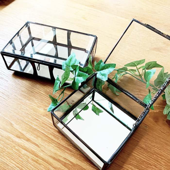 ガラスアクセサリーBOX 大 サブイメージ