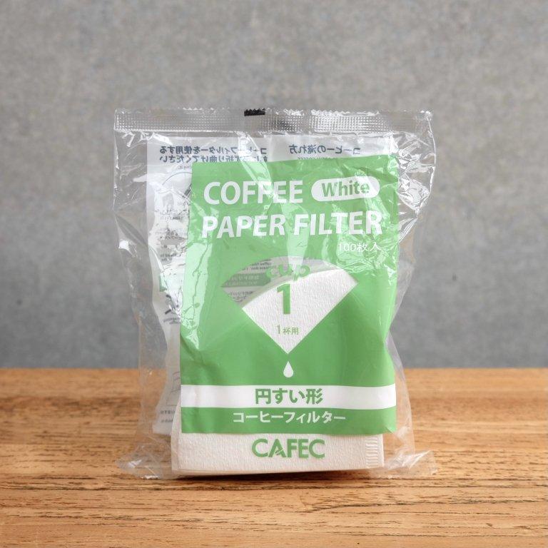円錐コーヒーフィルター1杯用 100枚入