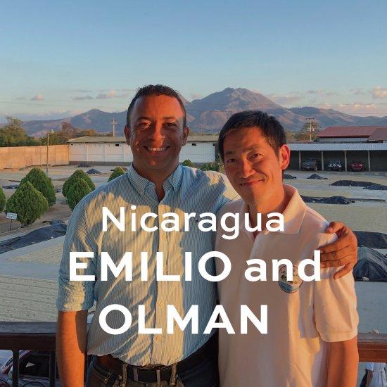 [ コーヒー 豆/粉 ]  エミリオ & オルマン / ニカラグア 200g