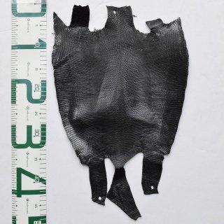 プレミアム・レザー/トカゲ革/Lizard(ブラック)Plb-20
