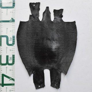 プレミアム・レザー/トカゲ革/Lizard(ブラック)Plb-23