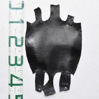 プレミアム・レザー/トカゲ革/Lizard(ブラック)Plb-04