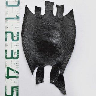 プレミアム・レザー/トカゲ革/Lizard(ブラック)Plb-24