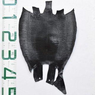 プレミアム・レザー/トカゲ革/Lizard(ブラック)Plb-27