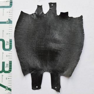 プレミアム・レザー/トカゲ革/Lizard(ブラック)Plb-25