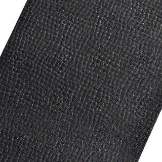 Tiger社革グリップ Tiger-Lattice 格子型押し 黒牛革