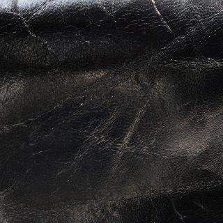 キューグリップ革巻き用 黒 シワ加工 牛革型押し No.10
