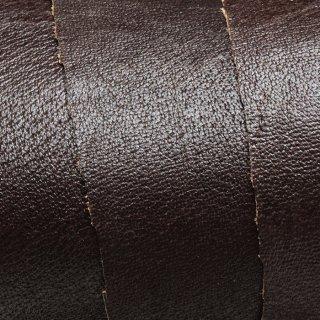 キューグリップ革巻き用 牛革型押し ダークブラウン No.52